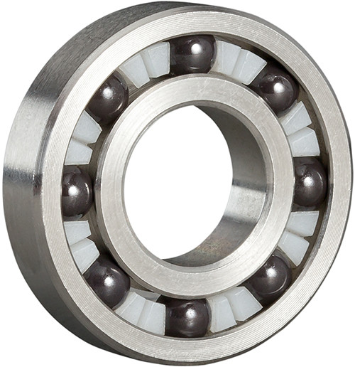 Single Row 316 Stainless Ceramic Radial Ball Bearings